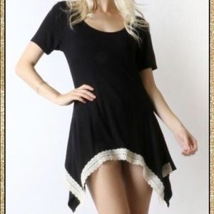 Tops - 'Know You Better' Black Asymmetrical Top